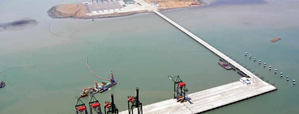 Pelindo III Cooperates with Chinese Investors to Work on the Reclamation Project in Lamong Bay